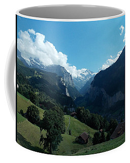 Wengen View Of The Alps Coffee Mug