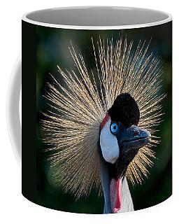 West African Crowned Crane Coffee Mug