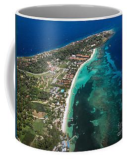 West End Roatan Honduras Coffee Mug by Peggy Hughes