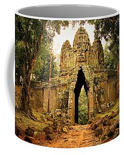 West Gate To Angkor Thom Coffee Mug