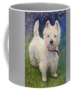 West Highland Terrier Holly Coffee Mug