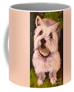 West Highland Terrier Reporting For Duty Coffee Mug
