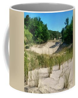 West Michigan Dunes Coffee Mug