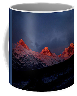 West Side Teton Sunset Coffee Mug
