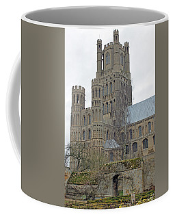 West Tower Of Ely Cathedral  Coffee Mug