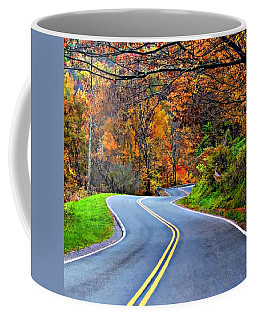 West Virginia Curves 2 Coffee Mug