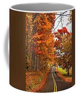 West Virginia Wandering Paint Coffee Mug