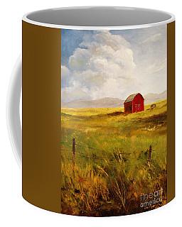Western Barn Coffee Mug