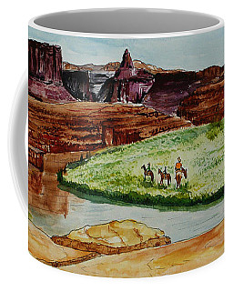 Western Canyons Coffee Mug