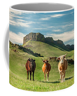 Western Longhorns Coffee Mug