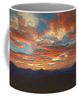 Western Sunset Coffee Mug