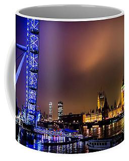 Westminster And Eye Night Glow Coffee Mug