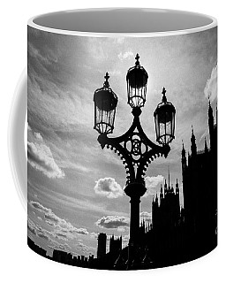 Coffee Mug featuring the photograph Westminster Silhouette by Matt Malloy