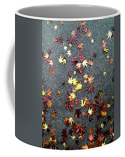 Wet Autumn Coffee Mug