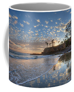 Wet Sand Reflections Laguna Beach Coffee Mug