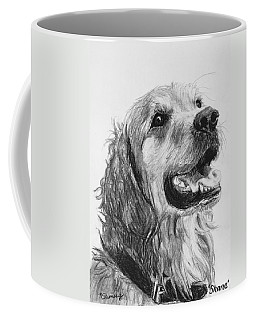 Wet Smiling Golden Retriever Shane Coffee Mug