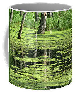 Wetland Reflection Coffee Mug by Ann Horn