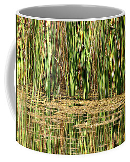 Coffee Mug featuring the photograph Wetlands by Laurel Powell