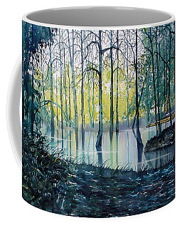 Wetlands On Skipwith Common Coffee Mug