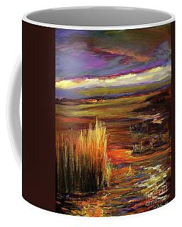 Wetlands Sunset Iv Coffee Mug