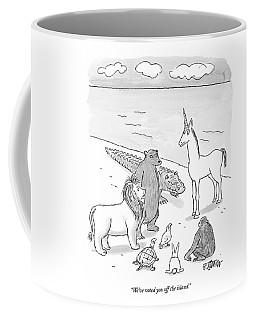 We've Voted You Off The Island Coffee Mug