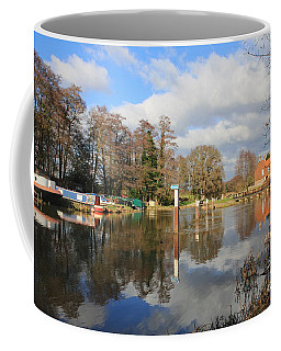 Wey Canal Surrey England Uk Coffee Mug