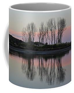 Whakatane River At Sunset Coffee Mug by Venetia Featherstone-Witty