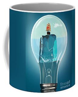Whale Lights  Coffee Mug