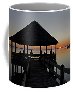 Coffee Mug featuring the photograph Whalehead Sunset Obx by Greg Reed