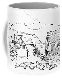 Wharf On Monhegan Island 1993 Coffee Mug