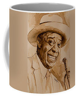 Coffee Mug featuring the painting What A Wonderful World by Laur Iduc