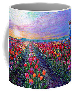 Tulip Fields, What Dreams May Come Coffee Mug