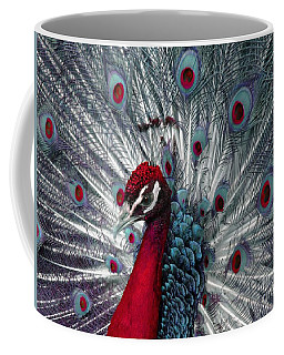 What If - A Fanciful Peacock Coffee Mug