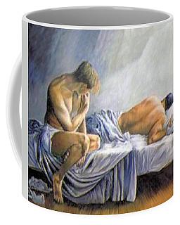 What Is He Dreaming Coffee Mug