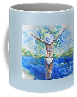 What Lies Ahead Series Forgive Coffee Mug