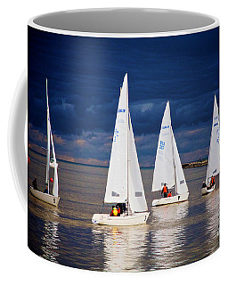 Coffee Mug featuring the photograph What Storm by William Norton