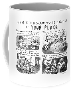 What To Do If Salman Rushdie Shows Coffee Mug