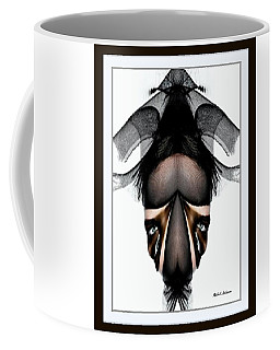 Coffee Mug featuring the painting What You See Is What You Get? by Rafael Salazar