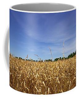 Wheat Field II Coffee Mug by Beth Vincent