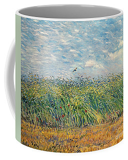 Wheatfield With Lark Coffee Mug