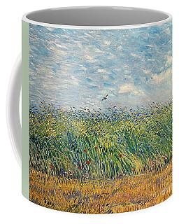Wheatfield With Lark Coffee Mug