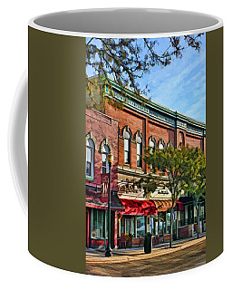 Wheaton Front Street Stores Coffee Mug by Christopher Arndt