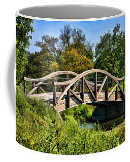 Wheaton Northside Park Bridge Coffee Mug by Christopher Arndt