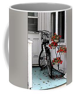 Wheels And Flowers Coffee Mug