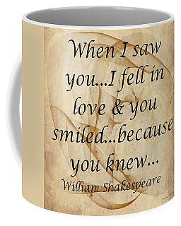 When I Saw You Coffee Mug