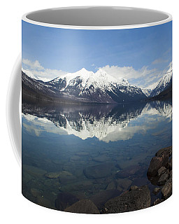 When The Sun Shines On Glacier National Park Coffee Mug by Fran Riley