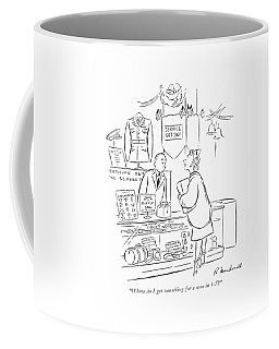 Where Do I Get Something For A Man In 4-f? Coffee Mug