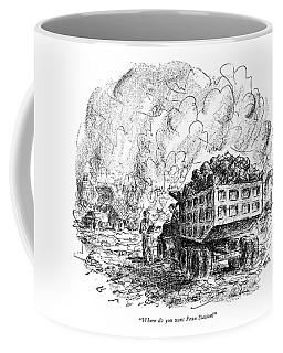 Where Do You Want Penn Station? Coffee Mug