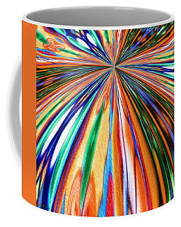 Where It All Began Abstract Coffee Mug by Alec Drake