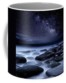 Where No One Has Gone Before Coffee Mug by Jorge Maia